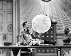One of the funniest scenes in film history… Charlie Chaplin in The Great Dictator.