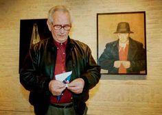 Jopie Huisman 1922-2000. Bij een zelfportret uit 1978.