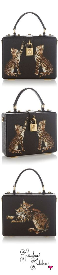 Frivolous Fabulous - Dolce & Gabbana Kitty Cat Box Bag Pre Fall 2016