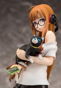 Persona 5 Futaba Sakura Scale Figure (Re-run) Persona 5, Chibi, Tokyo Otaku Mode, Anime Figurines, Figure Photography, Mode Shop, Anime Dolls, Fanart, Good Smile