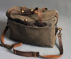Vintage Filson 257 Briefcase Bag Distressed collection by abrshop