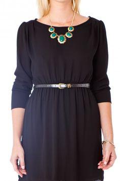 Berdine Dress in Black