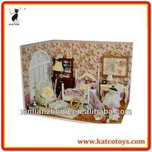 minyatür diy el sanatları oyuncak evi tüm mobilya dahil