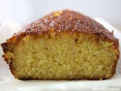 Der Rührkuchen wird sehr saftig! Lecker!