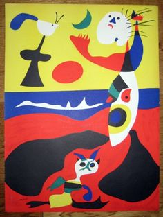 Joan Miró - Spanish surrealist painter and sculptor (1893-1983)