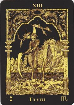 Death from the Azathoth tarot