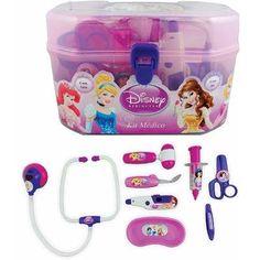 Kit De Médico Com Luz E Som + Maleta Princesas Disney Toyng - R$ 85,90 no MercadoLivre