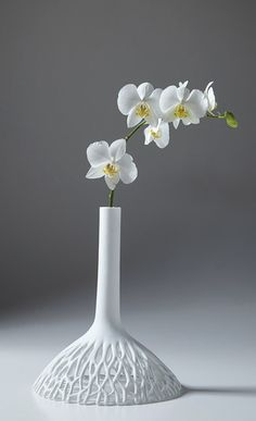 vase soliflor design nice porcelaine beautiful