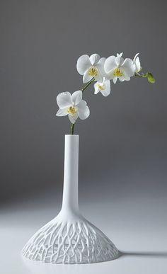vase soliflor design nice porcelaine beautiful