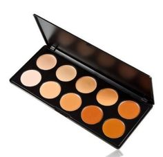 Amazon.com : Crazycity Professional Concealer Camouflage Foundation Makeup Palette (10pcs) : Beauty