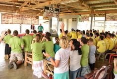 Malaybalay City Jail Praise and Worship Medical Mission Trip with Benedictine College