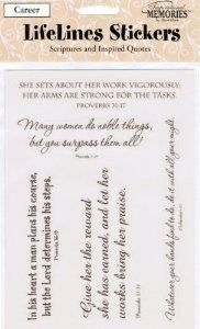 Scrapbook Scriptures and Inspired Quotes Stickers - Crafts  by Brownlow.  Click the picture for more....