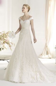 Romance Sweetheart A Line Wedding Dress
