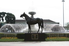 John Henry commissioned by Los Angeles Turf Club for display at the Santa Anita Race Track