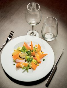L'assiette de La Table ronde © Jérôme Galland