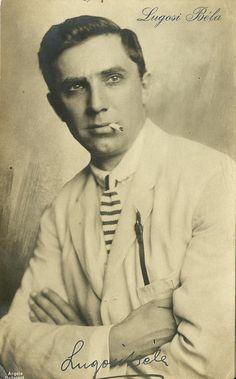 Bela Lugosi, circa 1920s.  That's one gooood looker!