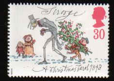 Literary Stamps: Dickens, Charles (1812 – 1870)