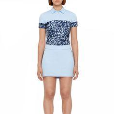 Lindeberg Women's Ditte TX Jersey Golf Shirt - Baby Whisper Icelay – The Golf Society J Lindeberg, Golf Wear, Golf Shirts, Whisper, Knitted Fabric, High Waisted Skirt, Short Dresses, Skirts, Model