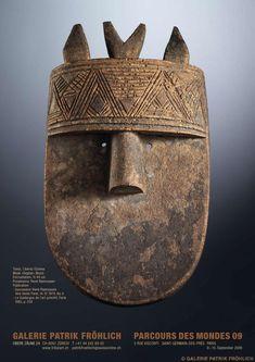Galerie Patrick Fröhlich African Masks, African Art, Ceramic Decor, Ceramic Art, Britisches Museum, Tribal Face, Art Beat, Ceramic Workshop, Art Premier
