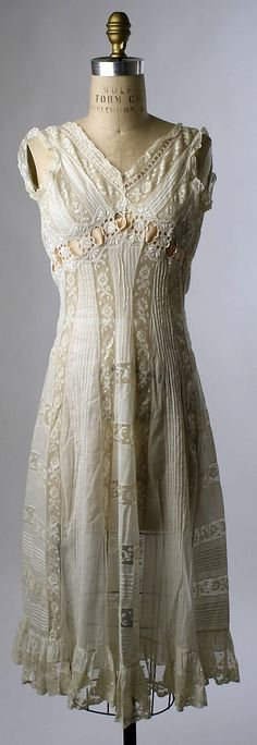 1908 negligee -- looks like a pretty dress to me!