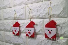 산타클로스 할아버지 종이접기 흰수염 산타클로스 접기 : 네이버 블로그 Christmas Crafts, Christmas Ornaments, Advent Calendar, Holiday Decor, Home Decor, Noel, Crafts, Decoration Home, Room Decor