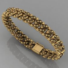 bracelets print model bracelet 120 bracelet bracelets gold, formats STL, ready for animation and other projects Solid Gold Bracelet, Mens Gold Bracelets, Mens Gold Jewelry, Gold Bangles, Gold Necklace, Modern Miami, Gold Pendent, Platinum Earrings, Gold Chains For Men