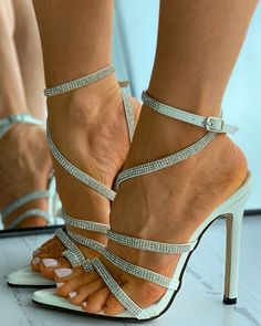 Pointed Toe Heels, Strappy Heels, Heeled Sandals, High Heels, Stilettos, Wedge Boots, Shoe Boots, Sexy Legs And Heels, Gorgeous Feet