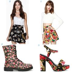Floral fashion items :)