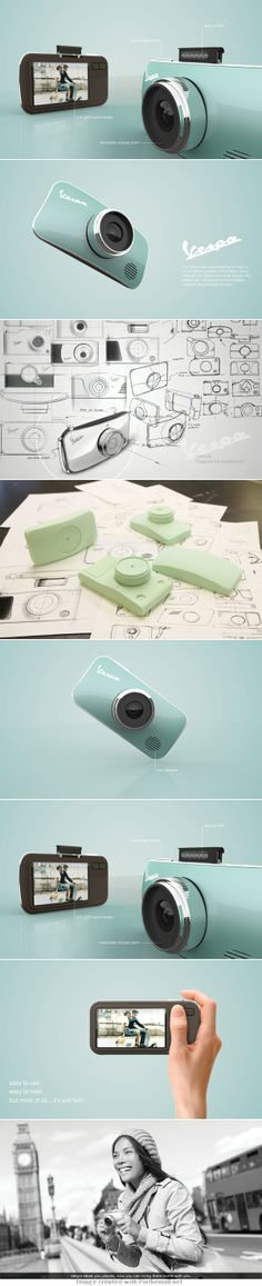 vespa camera - product design project