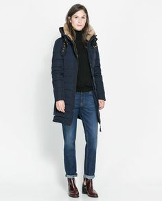 ZARA - WOMAN - THREE QUARTER LENGTH ANORAK