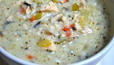 """Copycat Recipe Week: Day 2-""""Panera"""" Chicken & Wild Rice Soup with """"Olive Garden"""" Breadsticks"""