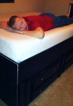 DIY Captains Bed