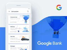 Google Bank Application Concept - Loan par Nick Taylor