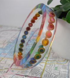 Resin Bracelet Bangle Bracelet Resin Jewelry Colored