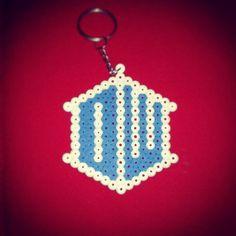 #doctorwho #dw #bbc #perlerart #keychain #doctor_who #hama #pyssla #perler #art #doctor #who