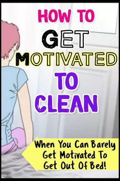 How To Get Motivated To Clean When Depressed & UN-Motivated (Cleaning Motivation!
