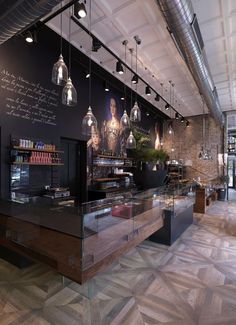 Binario 11 bar and restaurant, piazzale Cadorna, Milan, Italy - design Andrea…