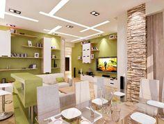 Decorative Stone in Living Room| Design & DIY Magazine