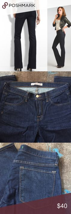 "J brand jeans (worn once) Dark rinse denim. Size 29. 35"" inseam. 1% stretch. Lexington boot cut. J Brand Jeans Boot Cut"