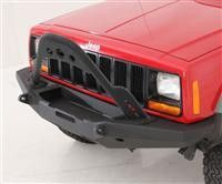 """Part Number: 76812 Fits 1984 to 2001 XJ Cherokee Reduces forward tipping during a roll over Bolt-on design for S/B76810 Bumper Heavy-duty 2"""" x .120 wall construction Features dimple die design on cent"""