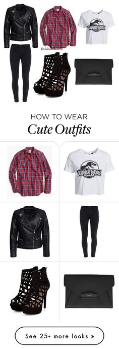 """Cute Outfit"" by diavianshanelle on Polyvore featuring New Look, Thomas Mason, Paige Denim, Sisters Point, Givenchy, women's clothing, women's fashion, women, female and woman"