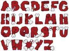 GUTS Alphabet