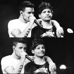 Liam Payne and Louis Tomlinson