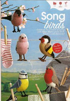 Alan Dart Knitting Pattern Song Birds