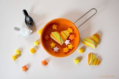 Cooking [with] love - origami heart & lucky stars