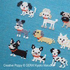 Afbeeldingsresultaat voor gera cross stitch patterns