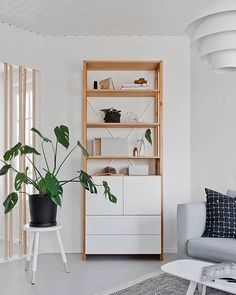 Old meets new. #lundiaclassic #shelf from the 70's combined with brand new white doors and drawers. Thanks for the #interiorstyling @oblik.fi and the pic @Photoworks.fi #lundia #wood #furniture #madeinfinland #vintage #homedecor #instahome #homestyling #interior #design #finnishhome #scandinavianhome