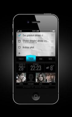 syPphone09 - http://apps.selcukyilmaz.com   Designer: Selcuk Yilmaz   Buy: http://itunes.apple.com/us/app/syphone09/id322419176?mt=8