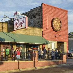Luigi's - A cash-only, mozzarella-lover's Italian restaurant in Akron, Ohio.
