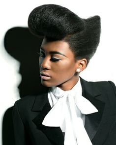 AfroHairstyle by Hype Coiffure. Super elegant and sophisticated hairstyle from this talented stylist. We have 14,000 hairstyles so for more inspiration visit  Www.ukhairdressers.com